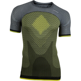 UYN Running Alpha OW Running T-shirt Men yellow/grey